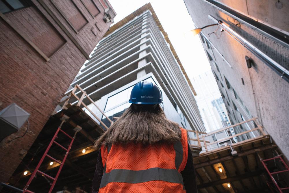 Aloft Hotel Construction Site, Chicago, IL