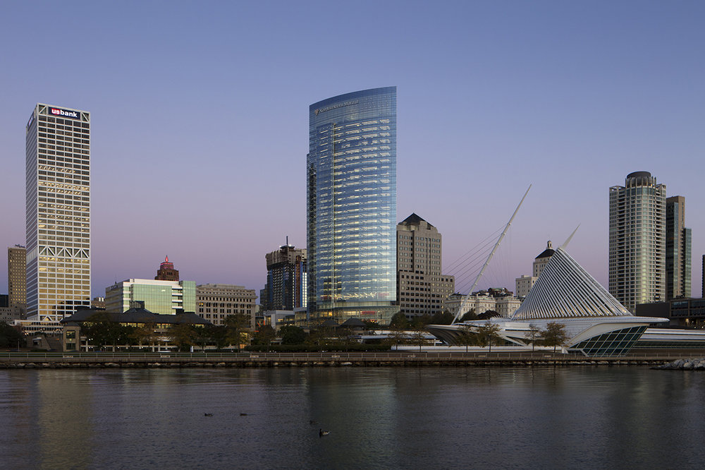 Lakeside View, Northwestern Mutual, Milwaukee, WI (Photo by Tom Rossiter)