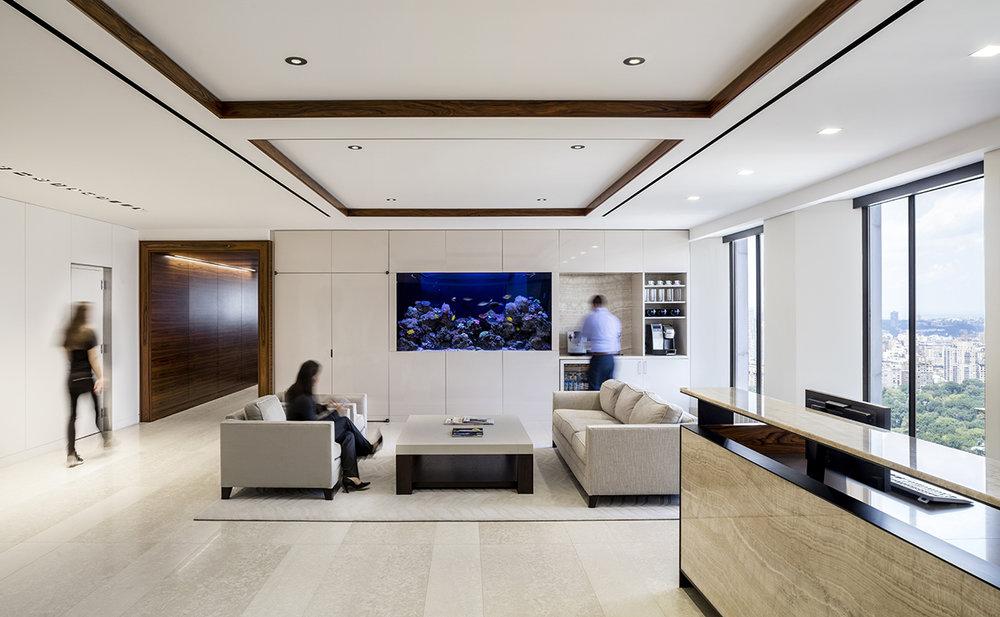 Lobby Area, BAM, New York, NY (Photo by Magda Biernat)