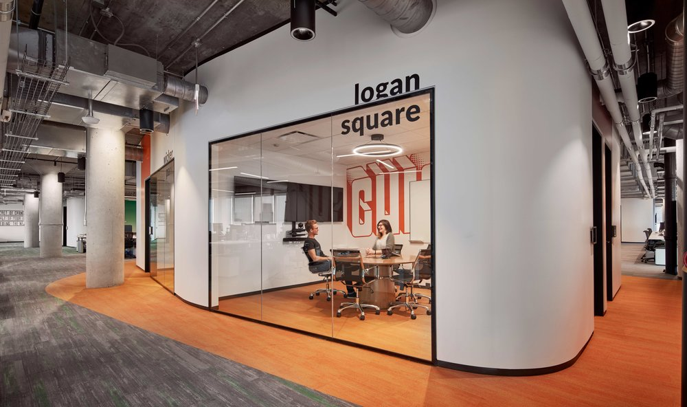 Conference Room, Glassdoor, Chicago, IL (Photo by Tom Harris)