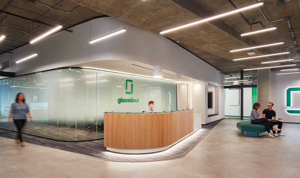Reception, Glassdoor, Chicago, IL (Photo by Tom Harris)