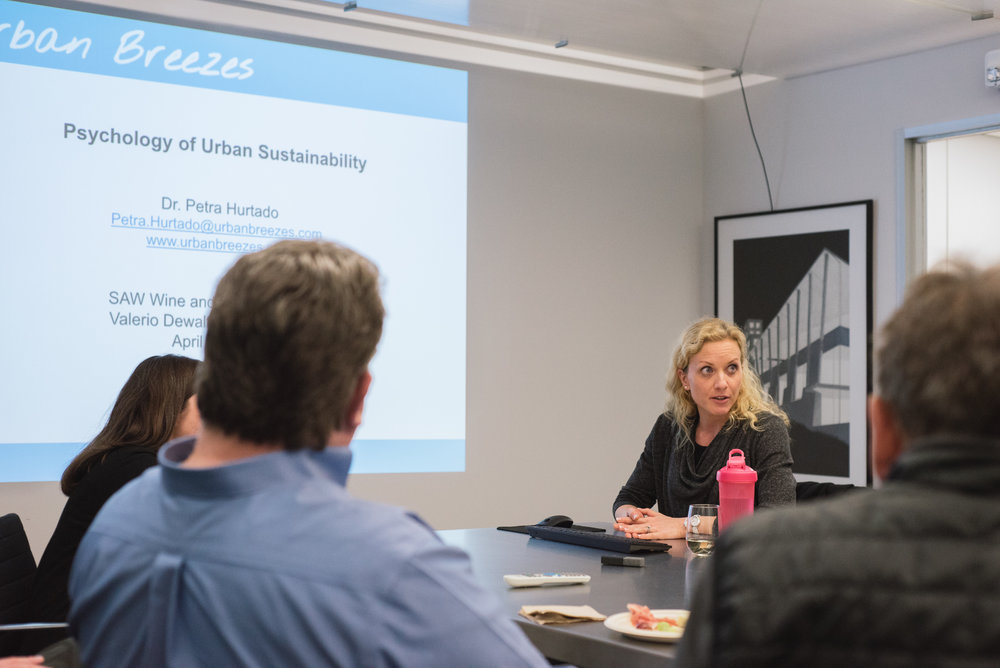 Petra Hurtado of Urban Breezes shares her research on urban environments