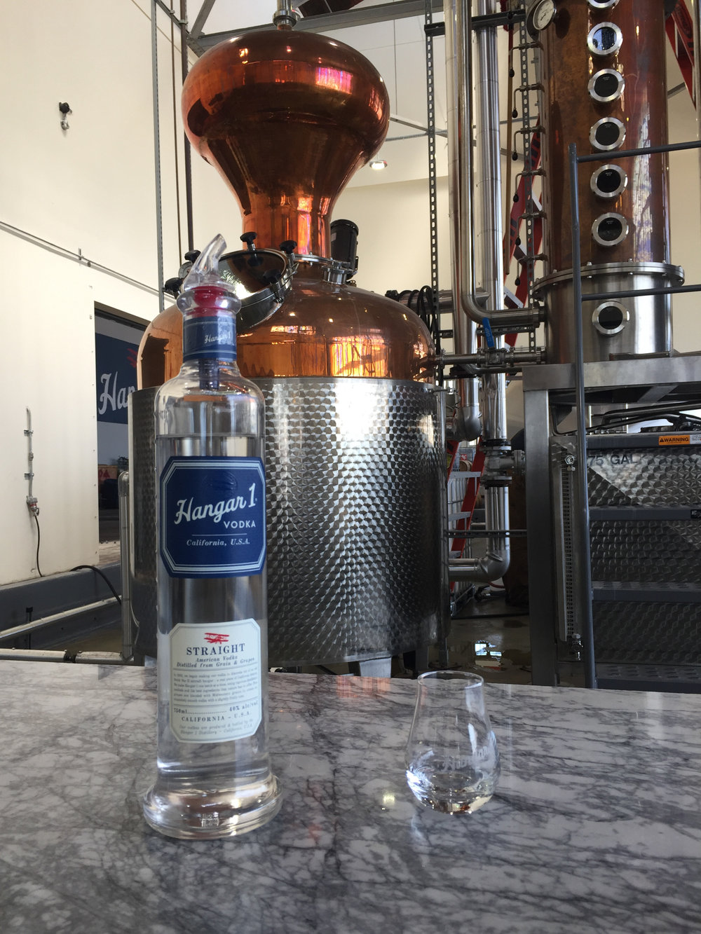 Hangar 1 American Vodka: the finished product