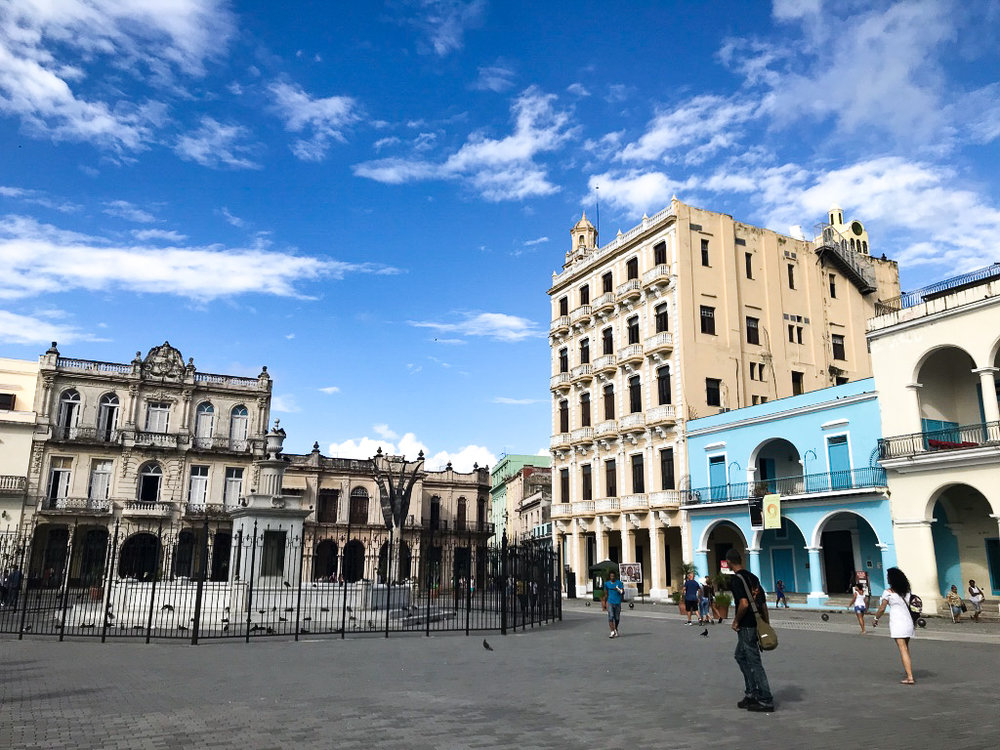Exploring streets of Havana
