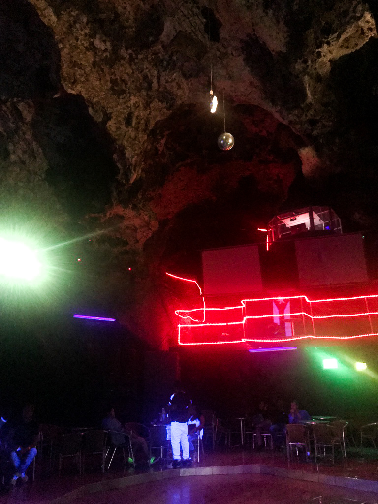 Finished the night off at the Disco Cave *who goes out at 11pm on a Sunday night?! This place was PACKED