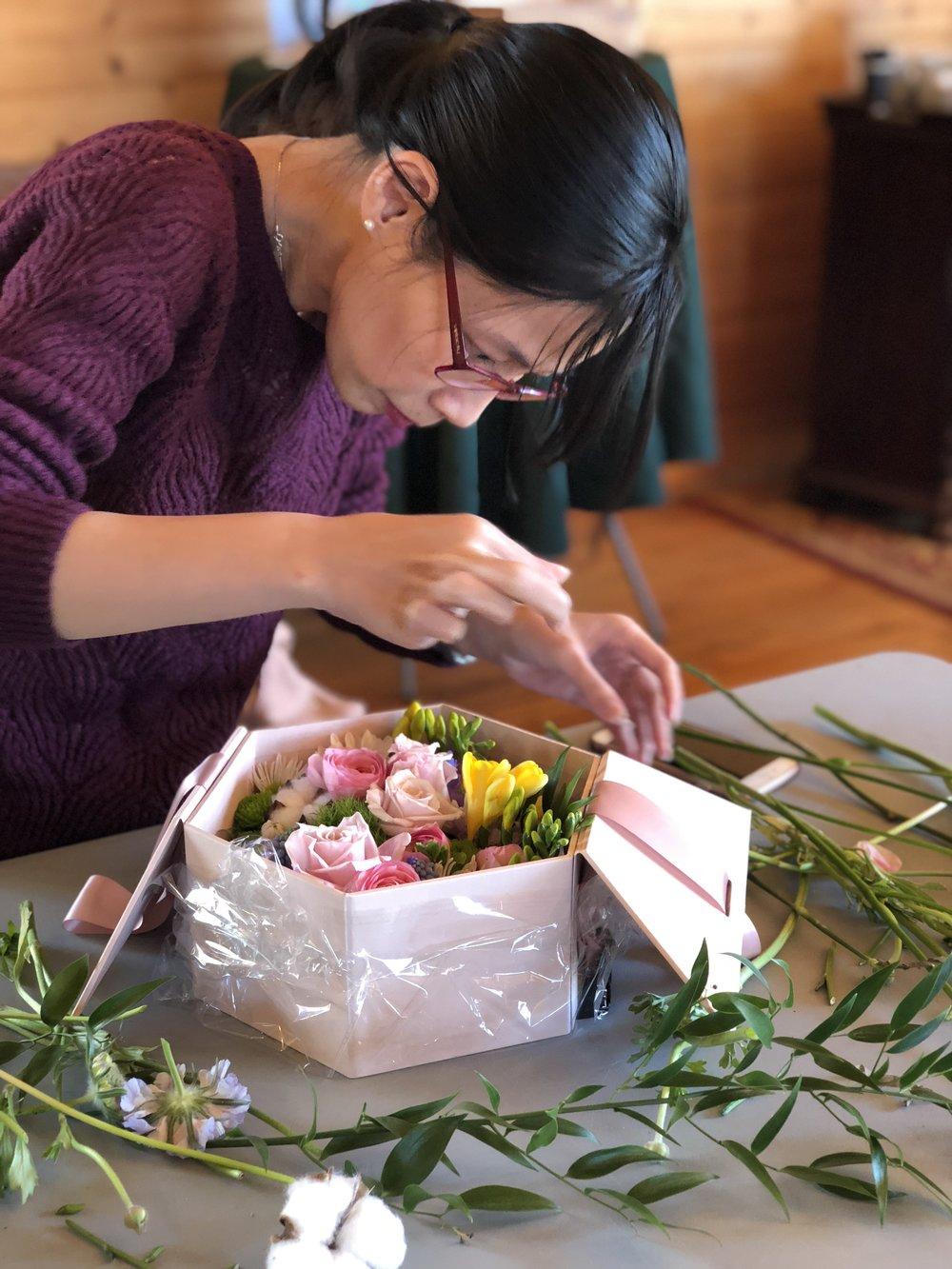 Washington Flower School Flower Design School