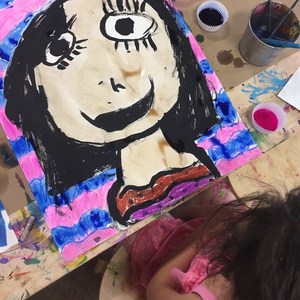 Homeschool Collective - Meet your fellow HOMESCHOOL friends! We will play, make, build, create and more! Each class will have one focused project and also time for children to explore the studio, play and build with cardboard boxes and more. We will also have a small art show at the end of each class......children love sharing their work AND sharing kind thoughts and asking thoughtful questions about their friends work. This class is child-led and process based. We focus on indulgent, messy, colorful F U N!