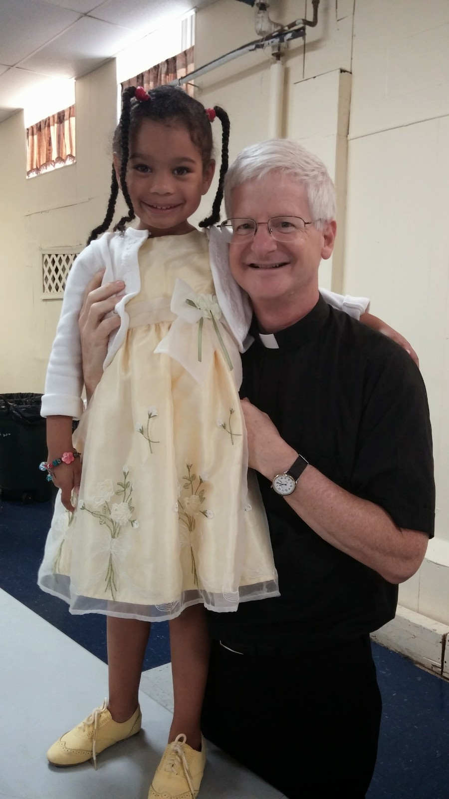 Fr. Rich and Amaya Allison