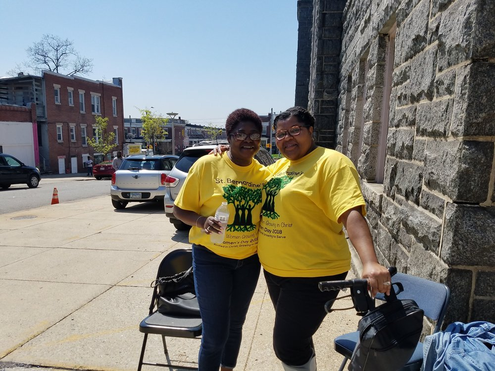 Family Fun Day 2018 - Stacey Alexander and Cecelia Harris