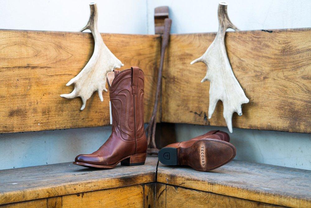 Tecovas Boots - Cartwright Chocolate Calf