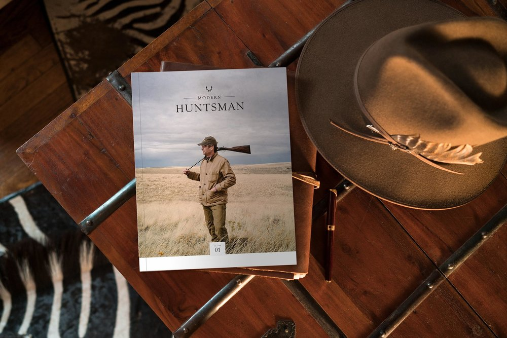 Modern Huntsman Magazine is live on kickstarter  -