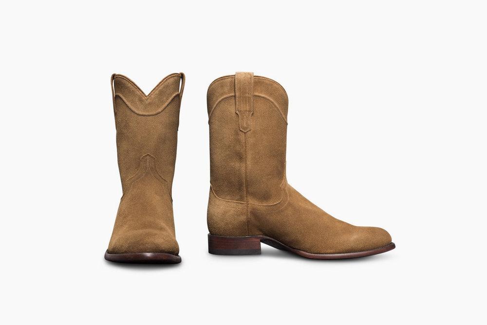 Tecovas Suede Boots -