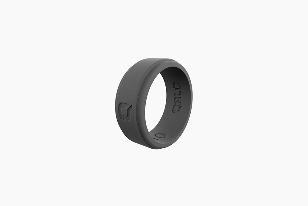 QALO Step Edge Q2X Ring - Your mom would not be happy if anything happened to that precious wedding band. Made entirely of silicone, the Edge Q2X rids his mind of ruining a ring and keeps it on the task at hand.