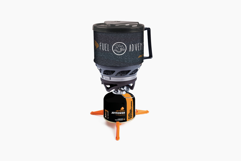 Jetboil MiniMo Cooking System - Five-star meals in the backcountry? Dad can make it a reality with the Minomo. An advanced regulator allows for precise simmer control and can still boil water in just over four minutes. No more free-dried food, it's time to eat like a king. He earned it.