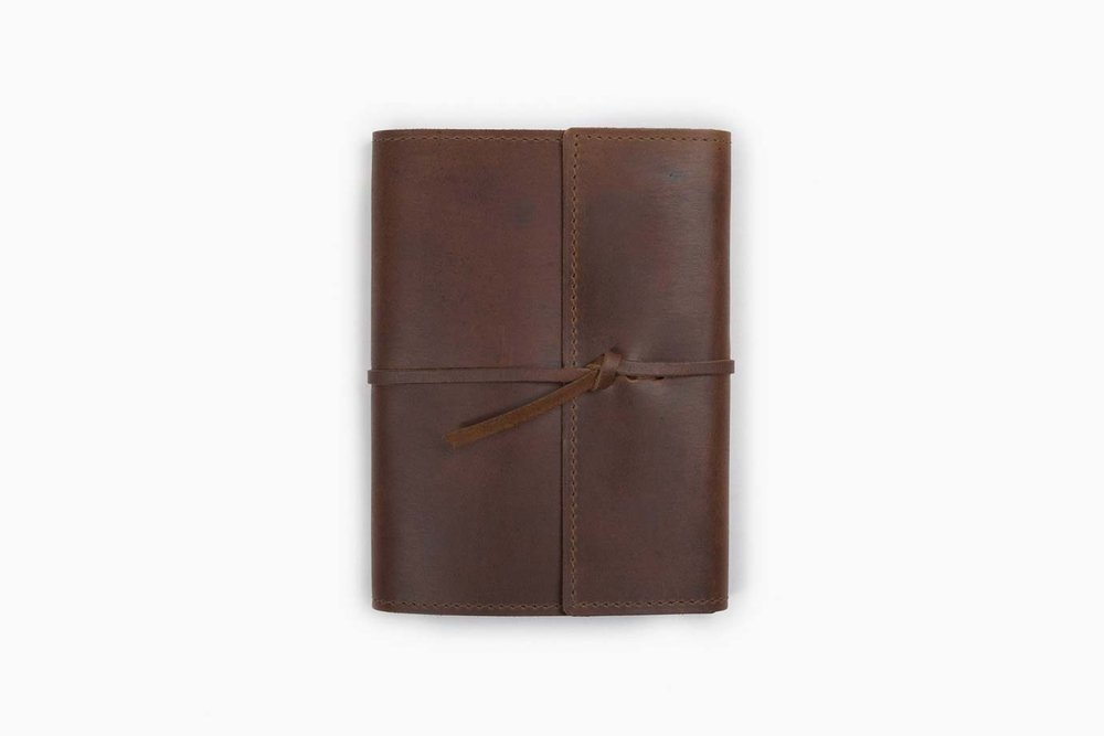 Writer's Log Leather Notebook - Rustico