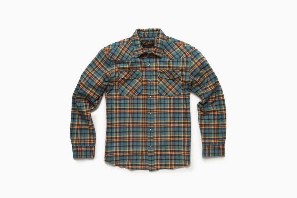 Stockman Flannel Snapshirt - Howler Brothers