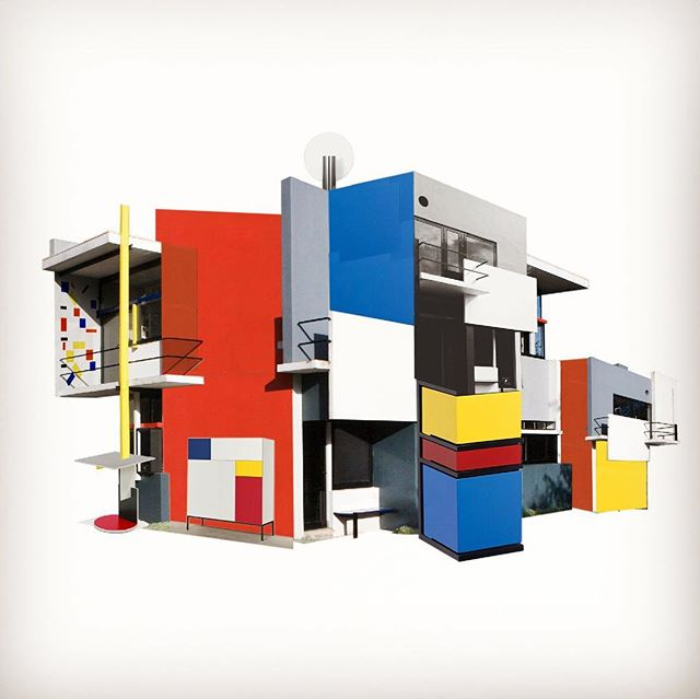 Work in progress: new version of the Rietveld S. House  #rietveld #gerritrietveld #rietveldschröderhuis #mondriaan #pietmondriaan #pietmondrian #mondriaanhuis #concept #design #architecture #exhibition #exhibitiondesign #novemberbravo #tentoonstelling #tentoonstellingsontwerp #design #designspiration #arthistory