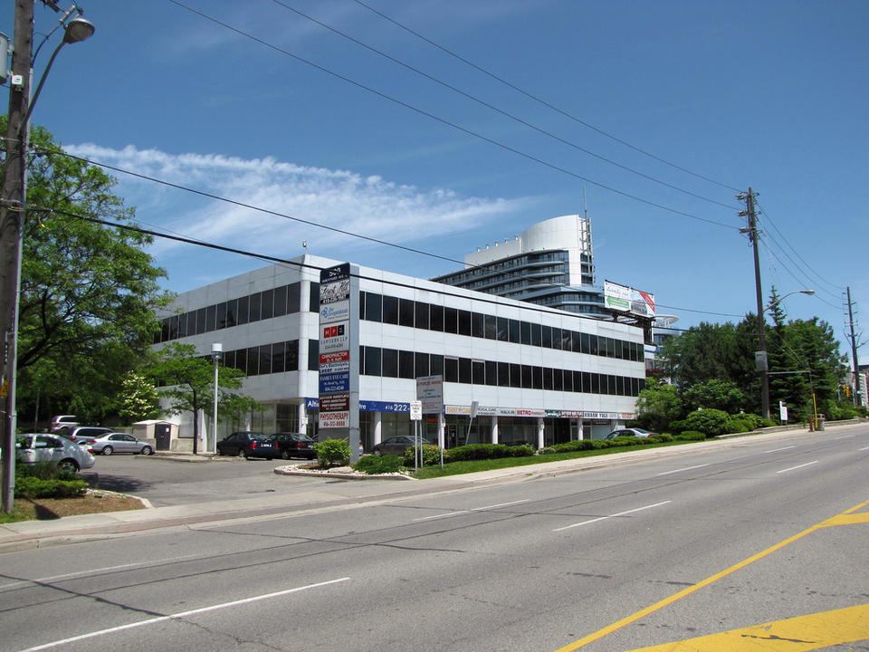 Our Office - Conveniently located at the northwest corner of Bayview and Sheppard Avenues, our office is only minutes away from highway 404/DVP and mere seconds away from highway 401. Parking is free. TTC bus routes include the 11 (Bayview bus) and 85 (Sheppard East bus), in addition to Bayview Subway Station on Line 4.