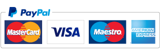 PayPal credit and debit card icons