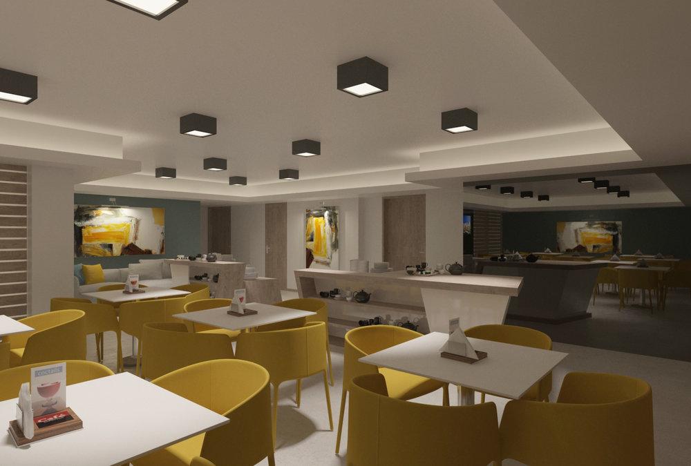 KViHotel Budapest Dining Hall 02