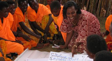 Financial literacy training in Burundi brings communities together