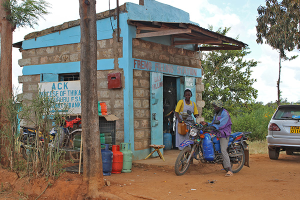 Monica's Petrol Station in Kenya is growing