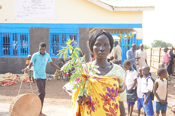 A mother's testimony on microfinance and emergency treatment in South Sudan