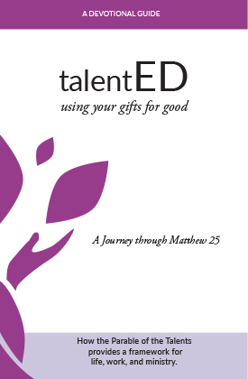 The Parable of the Talents Devotional Book