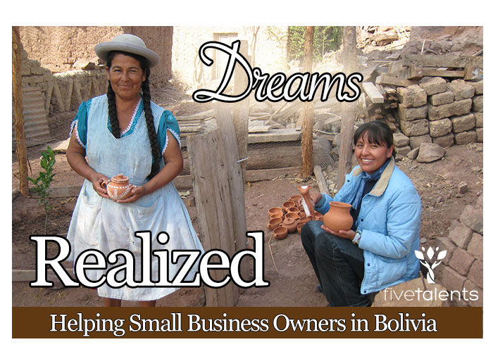 This gift supports ministry in Bolivia, helping families to start and develop small businesses.   Your support means that new members will receive training in budgeting, savings, cost of credit, business planning, nutrition and discipleship. They will also learn how to invest and grow their businesses, meaning sustainable income to support their families.