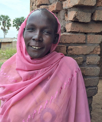 A Savings Group Member in South Sudan
