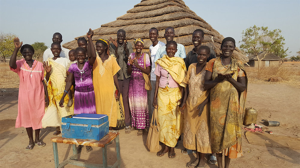 Social Cohesion Community Savings Group Members in South Sudan