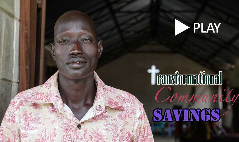 Transformational community savings for sustainable development in South Sudan.