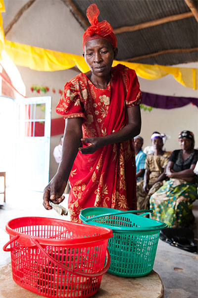 March Match - Filling the basket for community development