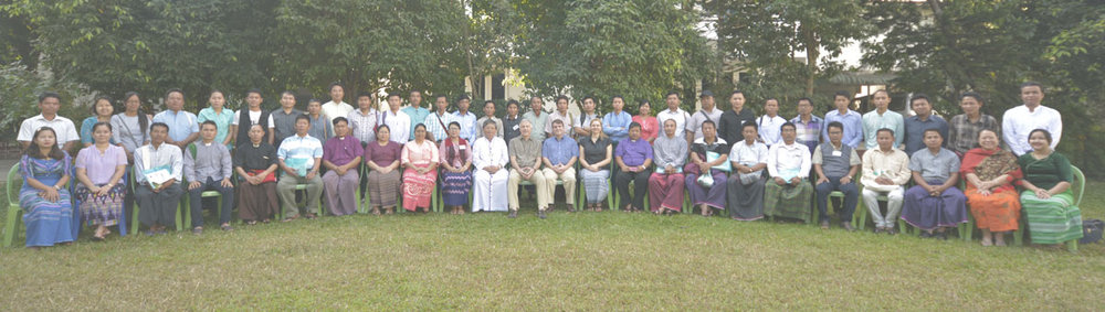 Participants in the Business as Mission Training in Myanmar.