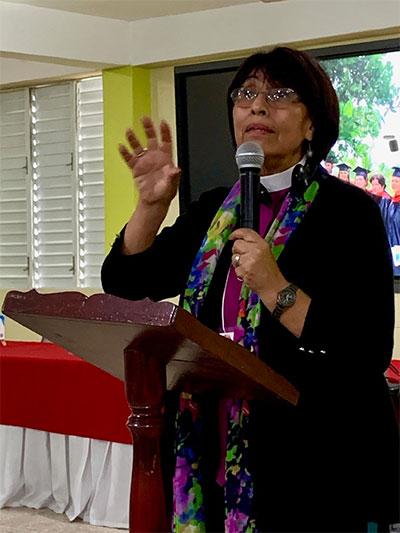 Bishop Griselda Delgado del Carpio of Cuba