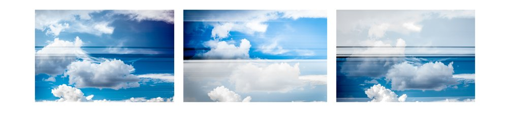 Cloud Triptych 7160