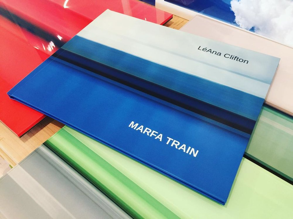 MARFA TRAIN BOOK by LéAna Clifton