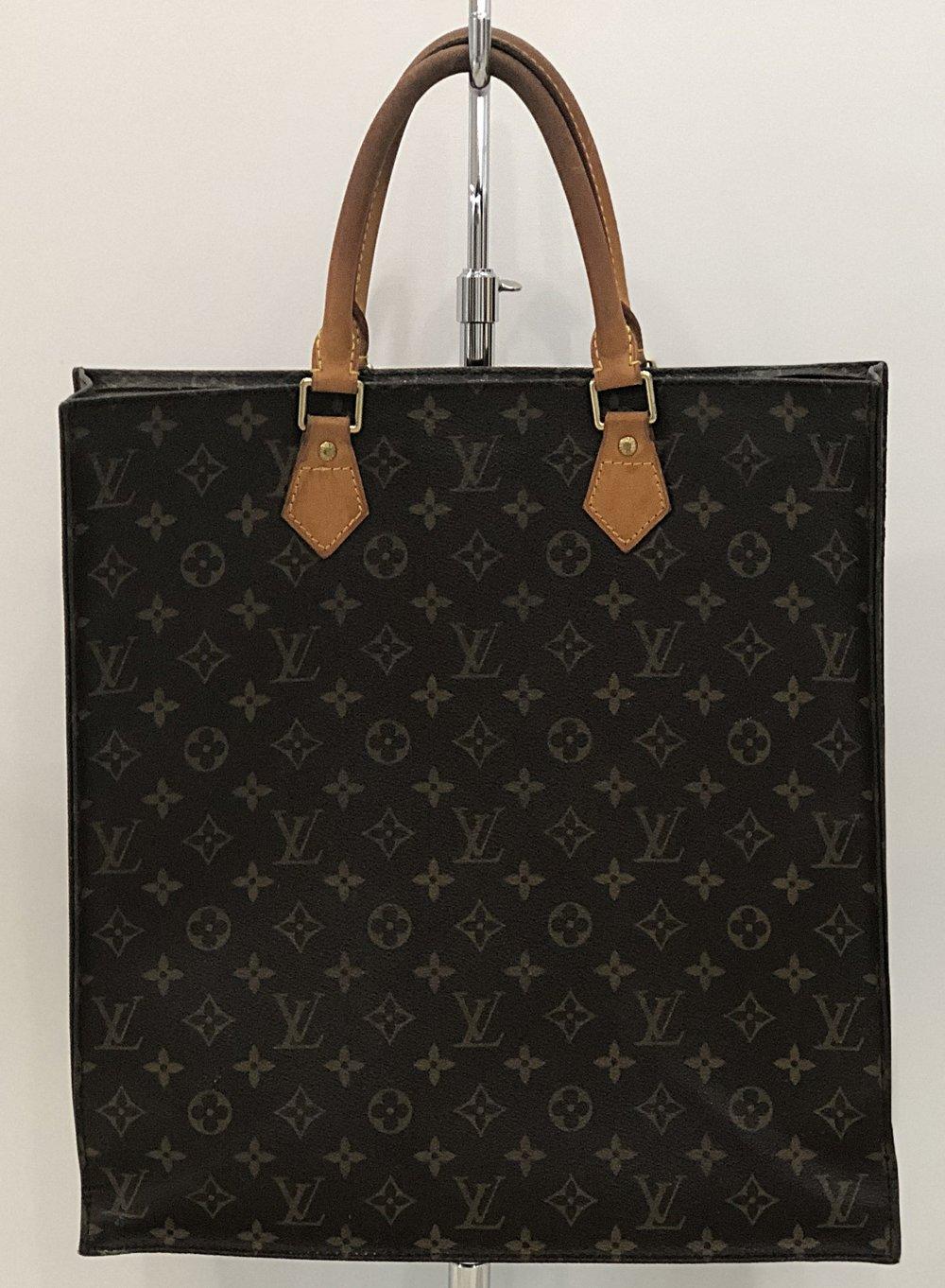 8ebdd249ab Louis Vuitton Monogram Sac Plat — Threads Boutique & Consignment