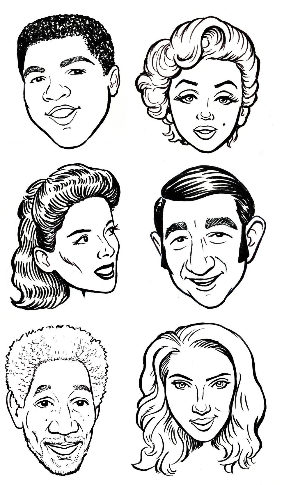 Celebrity line carics.jpg