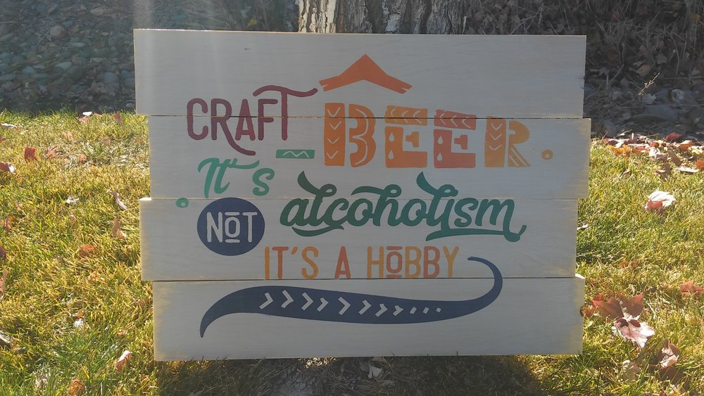 Craft Beer is not alcoholism..