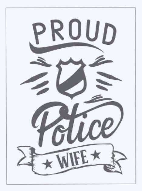 Copy of Proud Police Wife