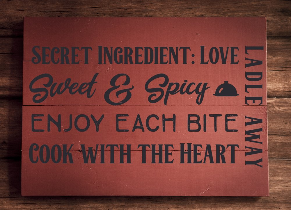 Copy of Secret ingredient Love..