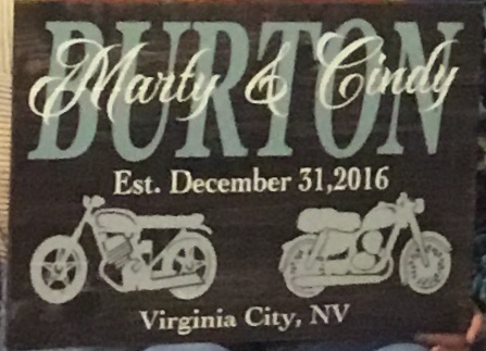 Motorcycle Monogram