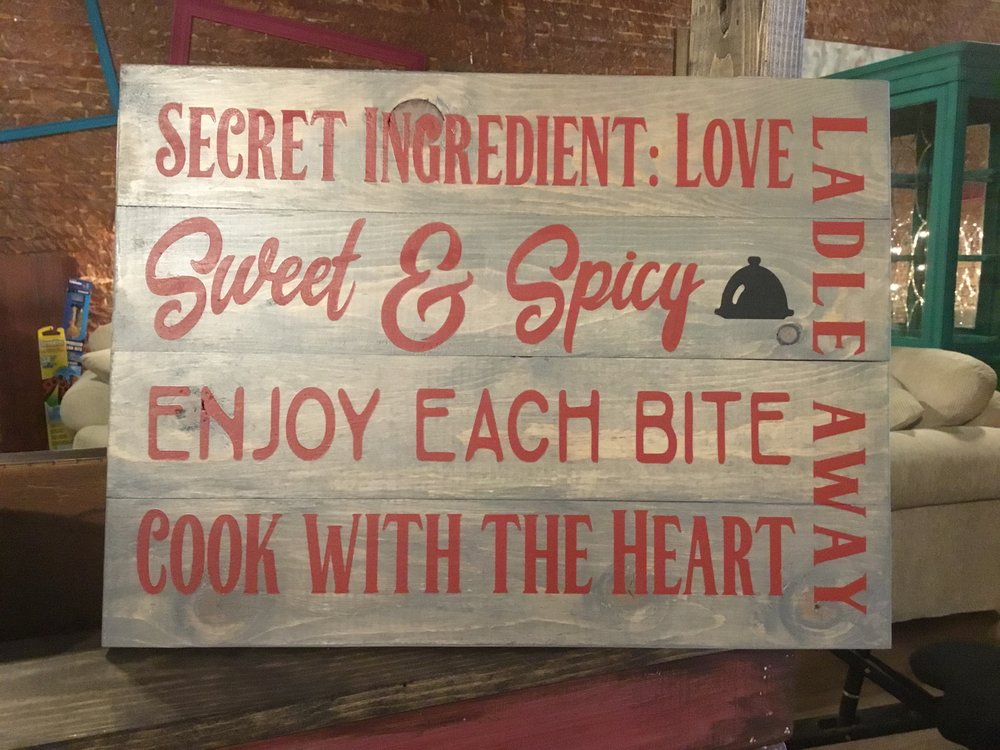 Secret ingredient: Love