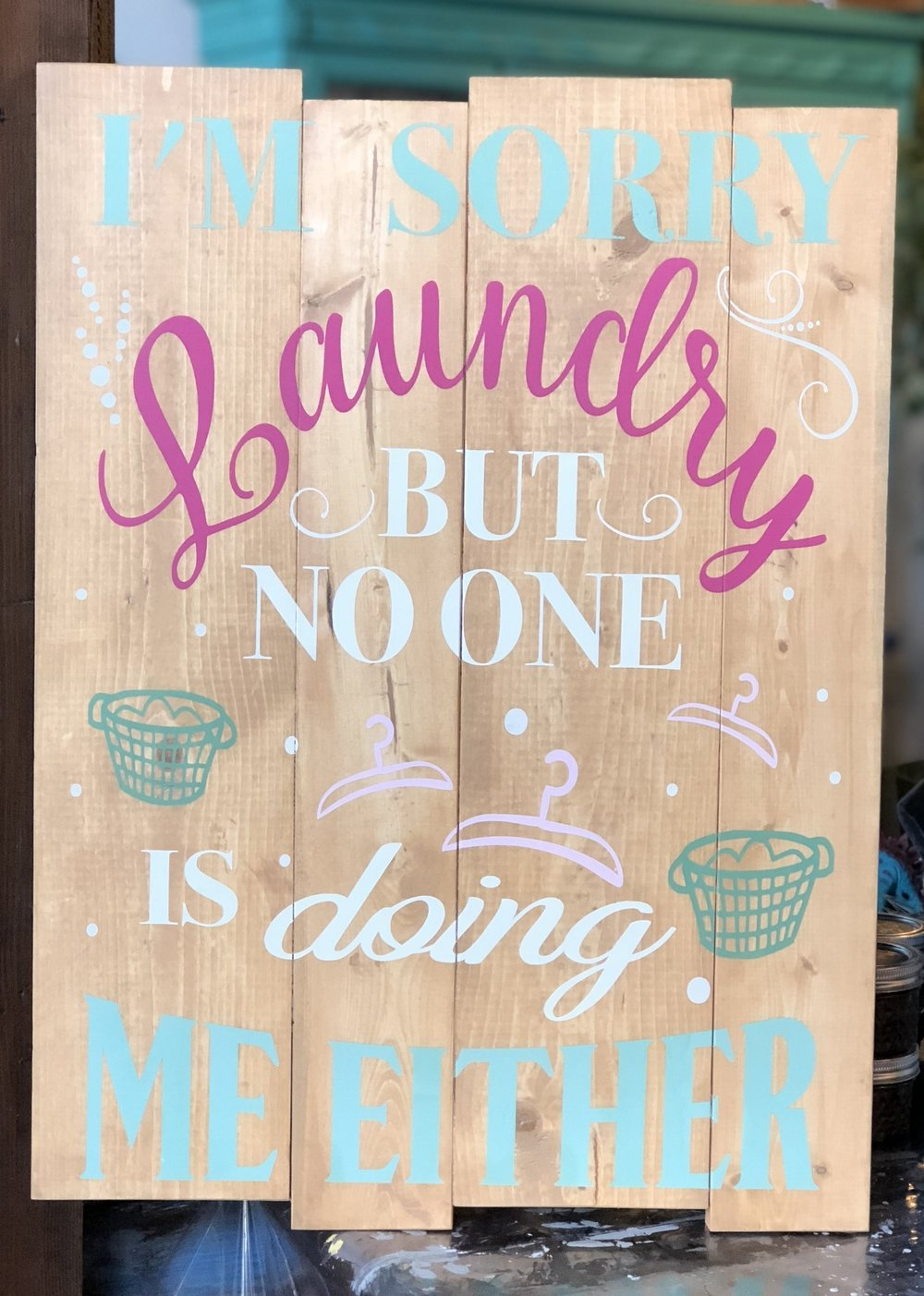 Don't worry Laundry.. no one is doing me Either