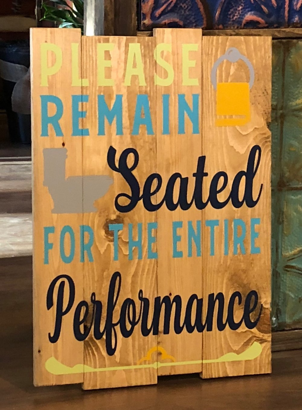Please Remain Seated...