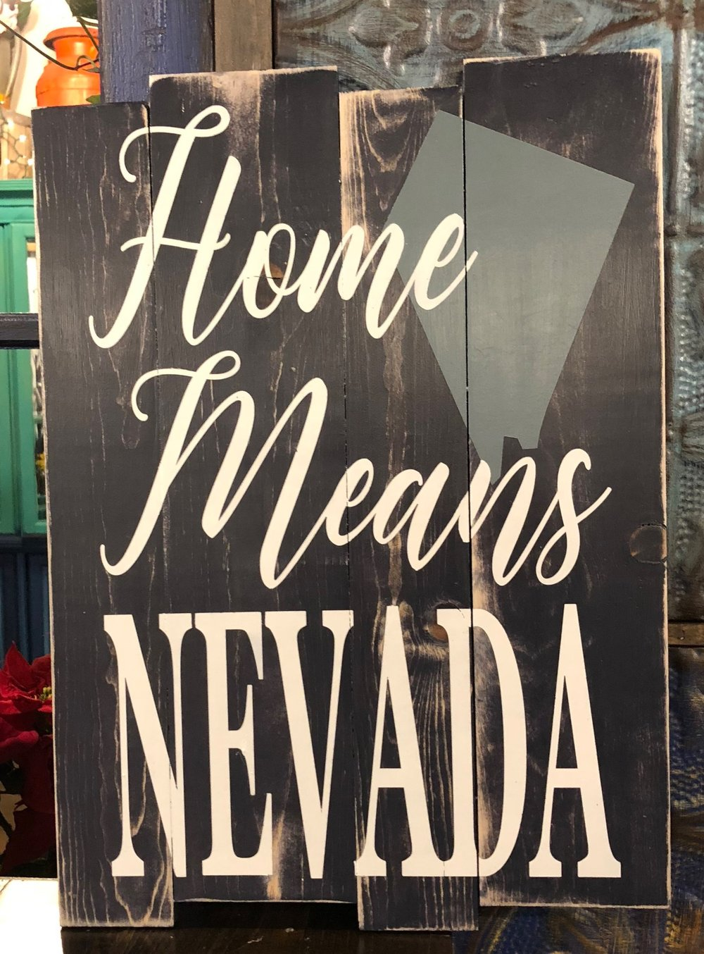 Home means NV W/State in background