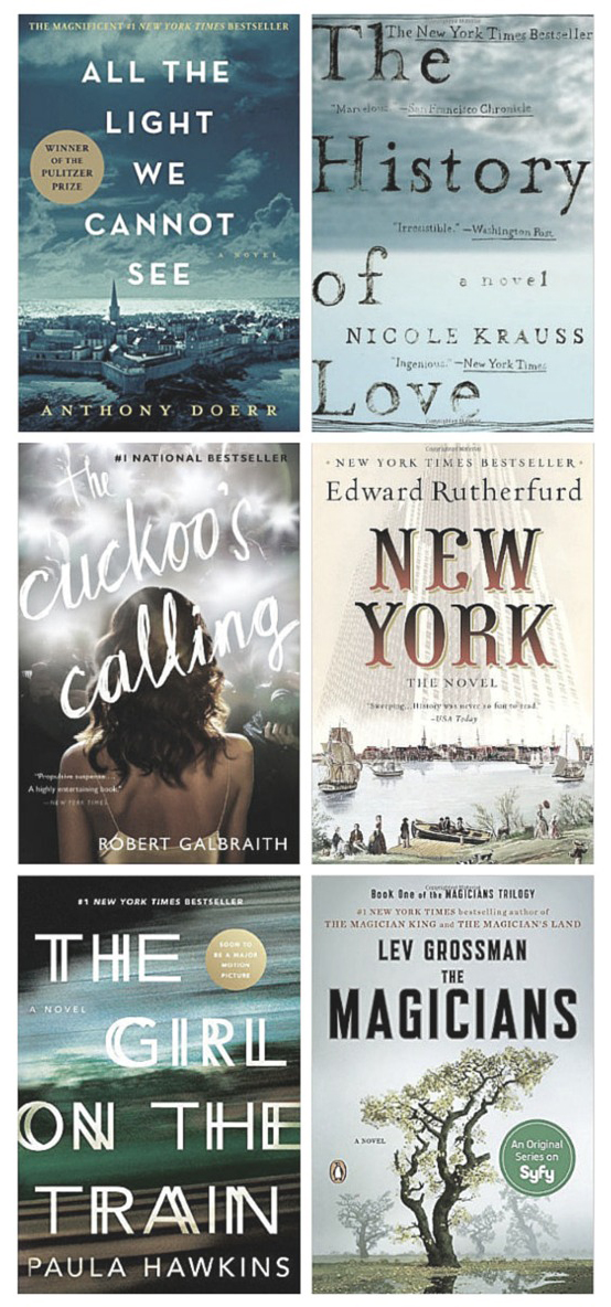 2016 Fiction Faves