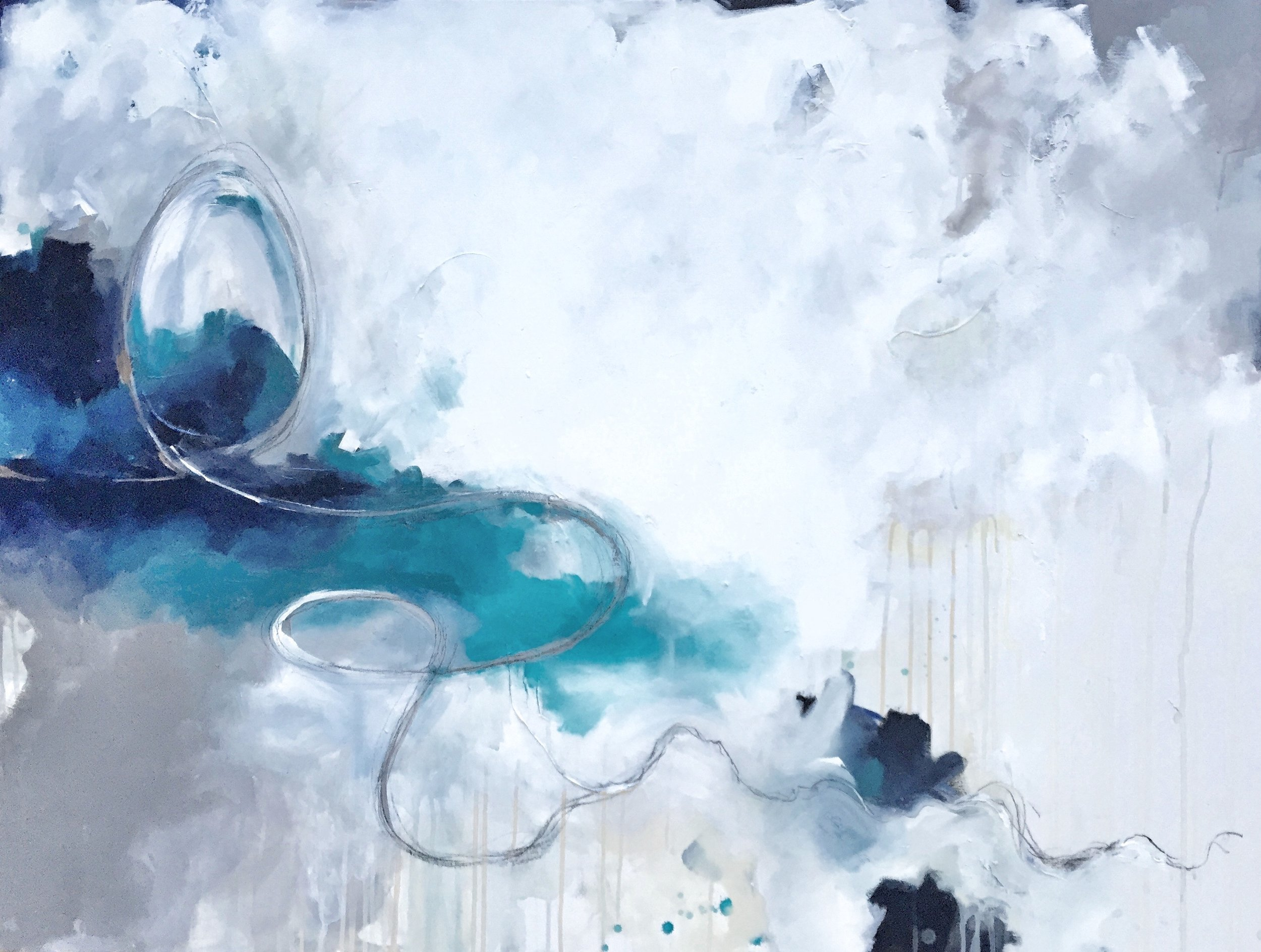 Daydream Believer - Abstract Art by Lauren Bolshakov