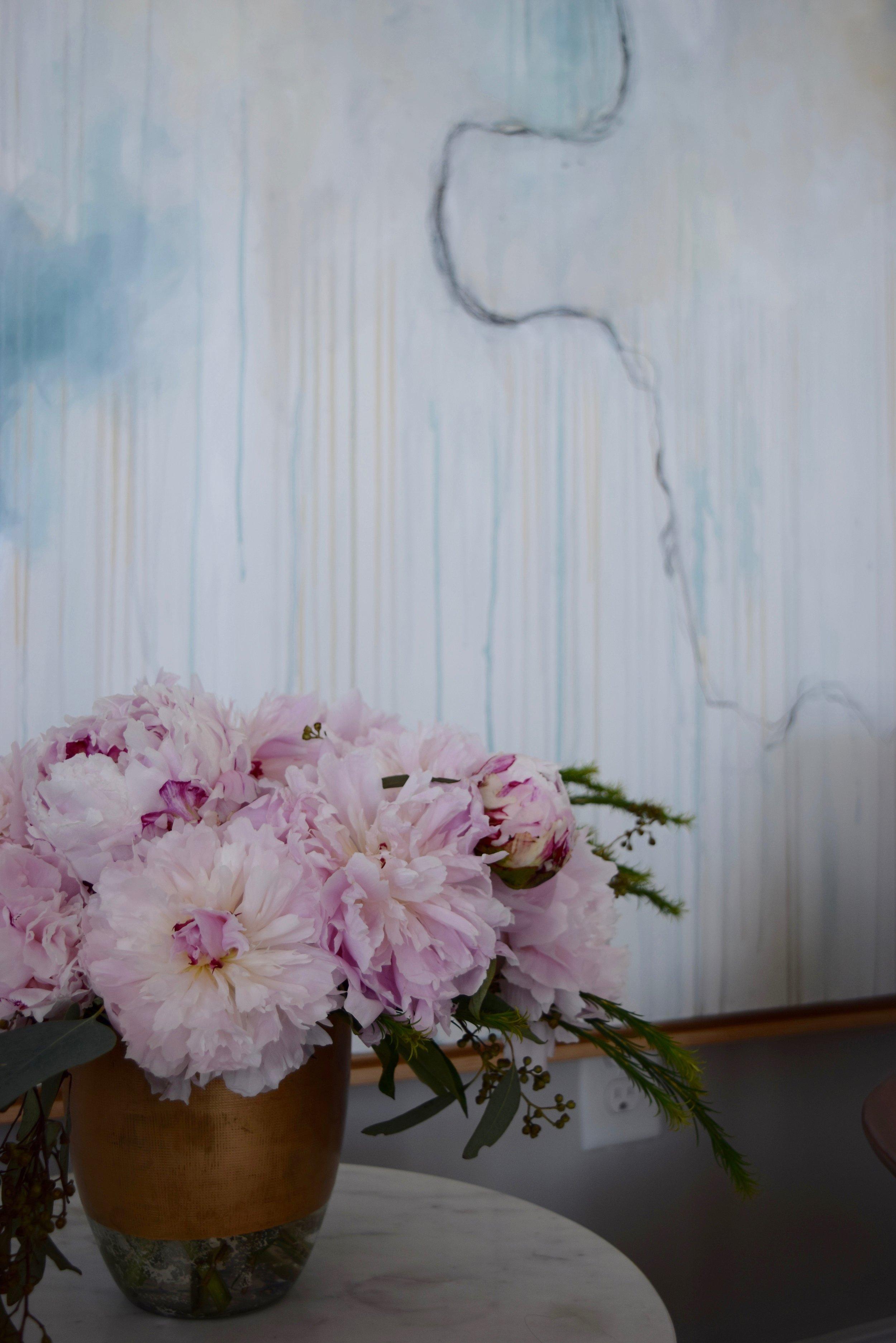 Paint and Peonies Lauren Bolshakov